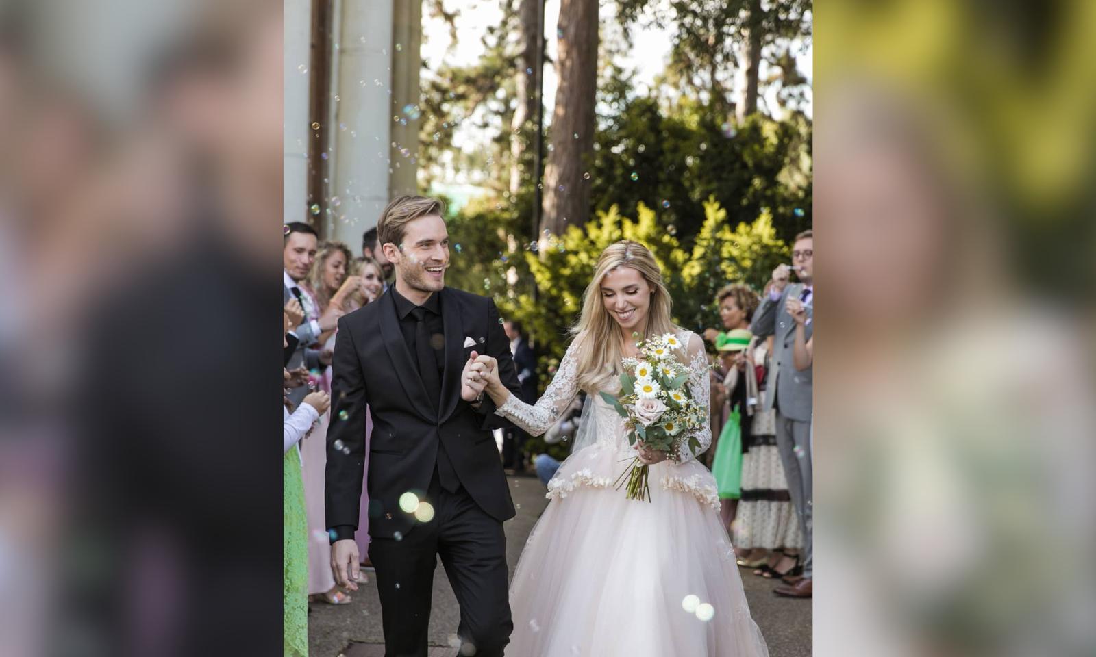 PewDiePie & Marzia Bisognin Are Married