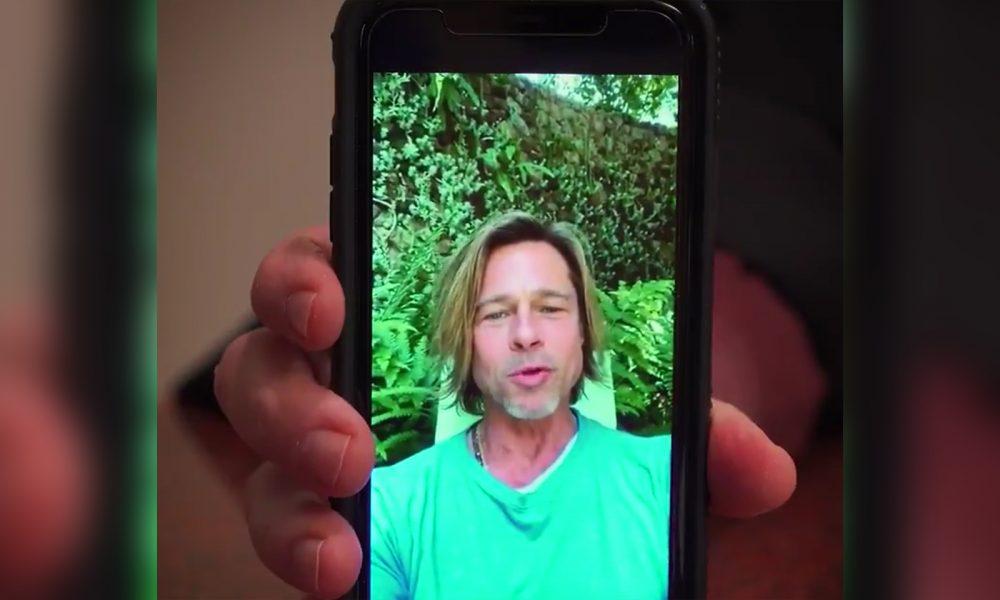 Brad Pitt Sends Video Message To Missouri State University Students